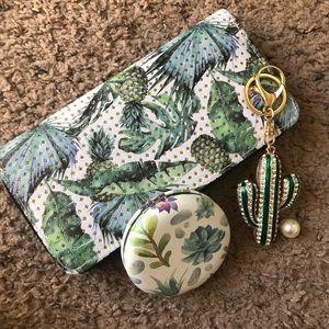 Handbags - Wallet succulent and cactus bundle